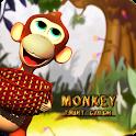 Monkey Fruit Catch icon