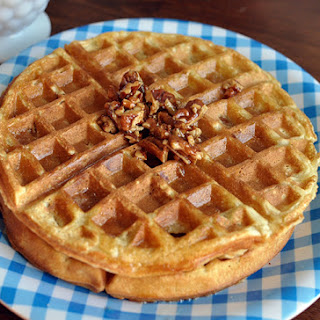 Copycat Waffle House Pecan Waffle.
