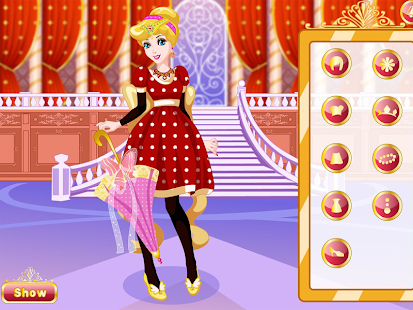 Dream Princess Dress Up - náhled