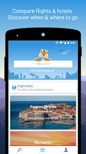 Hipmunk Hotels & Flights Screenshot