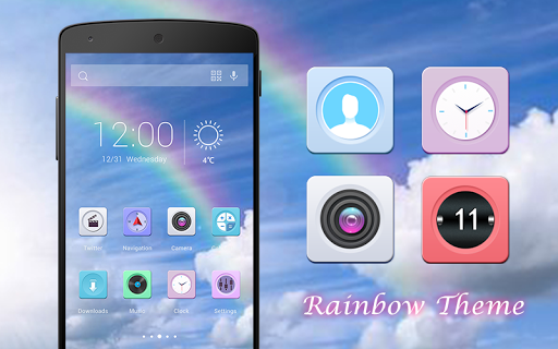 Rainbow-Solo Theme