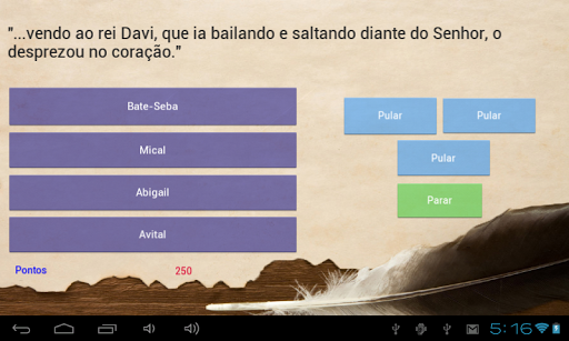 Perguntas e Respostas Bu00edblicas 1.0.0 screenshots 3
