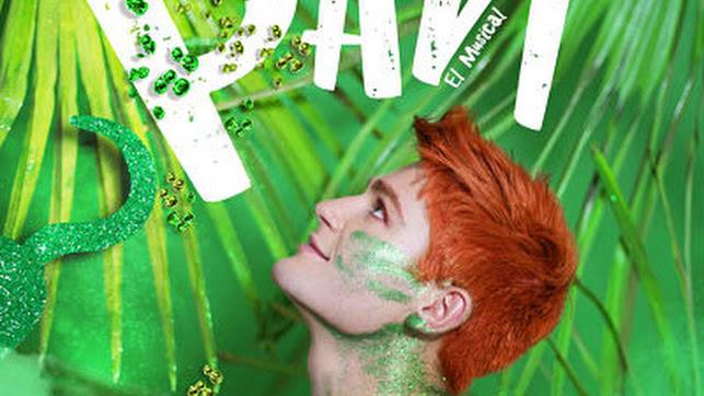 Cartel del Musical Peter Pan en el Auditorio Maestro Padilla.