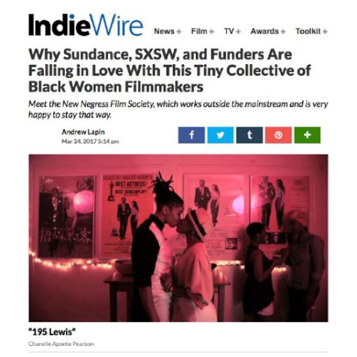 IndieWire Ja'Tovia Gary