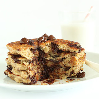 Chocolate Chip Oatmeal Cookie Pancakes 2.0.