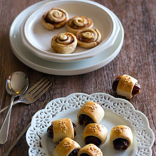 Stuffed Date Rolls and A Bonus Cookie!.