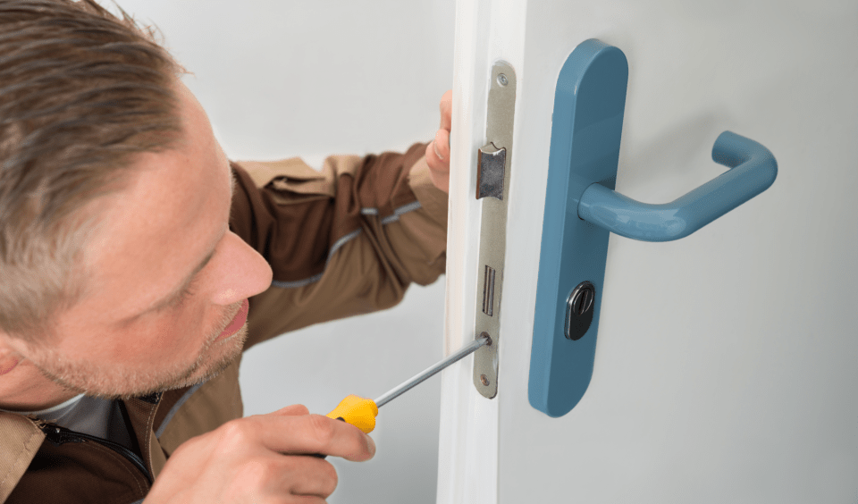Changing front door locks in Toronto