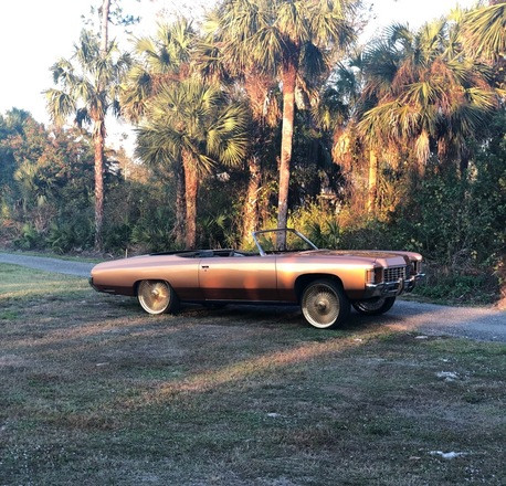 1971 Chevrolet Impala Convertible Hire FL