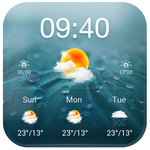 Personal Weatherman Widget