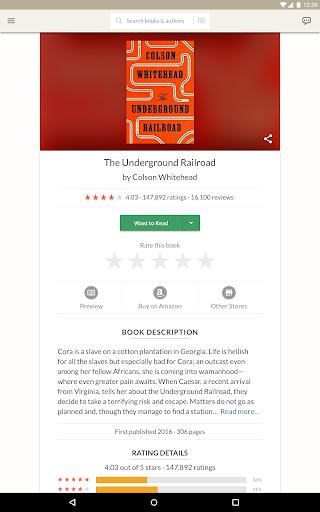Goodreads screenshot 9