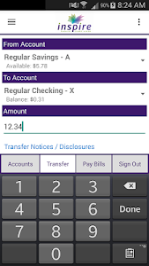 Inspire Federal Credit Union screenshot 4