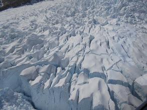 Photo: Y ya estamos en el glaciar