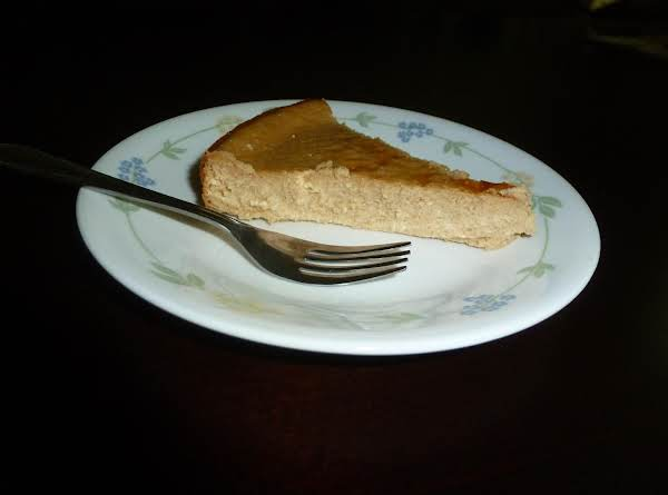 Crust-less Brown Sugar Cheese Cake Recipe