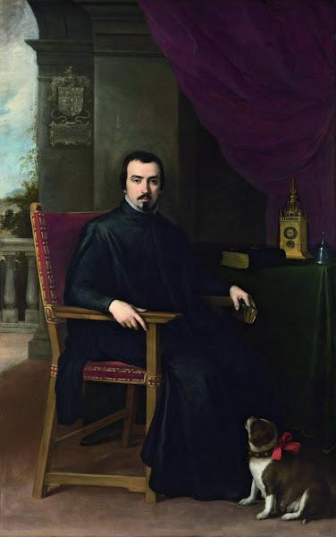 """Photo: """"Don Justino de Neve"""" Bartolomé Esteban Murillo Óleo sobre tela, 206 x 129,5 cm 1665 Londres, The National Gallery, London. Bought, 1979"""