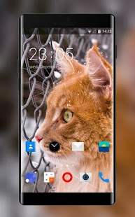 Theme for Karbonn K25i Kitty Wallpaper - náhled