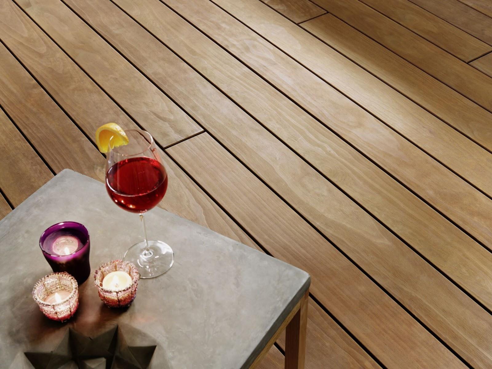 Clear terrassebord fra Kebony