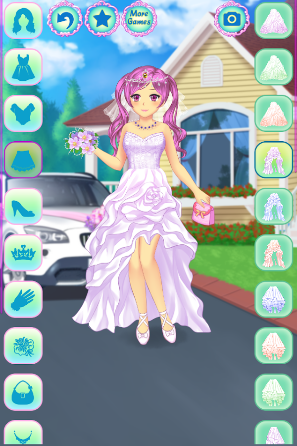 Anime Wedding Dress Up- screenshot
