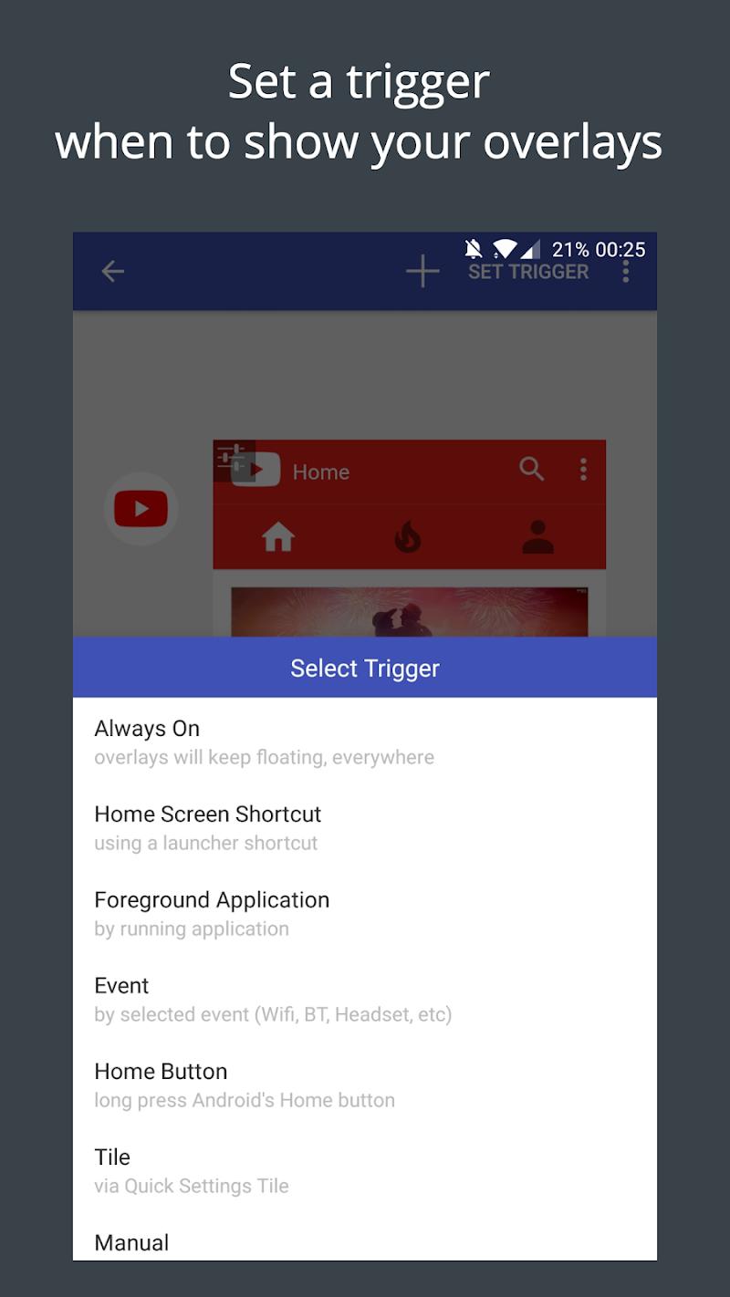 Overlays - Floating Automation Screenshot 2