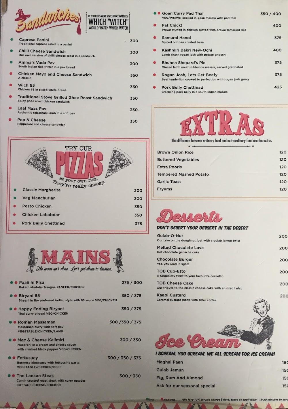 The Open Box menu 2