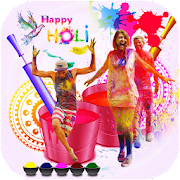 Holi Photo Frames 2018