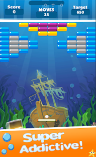 Brick Breaker Ocean - náhled