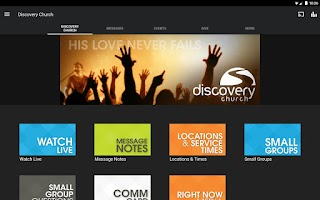 Screenshot of Discovery Church Florida