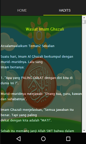Download Wasiat Imam Al Ghazali Apk Latest Version App By
