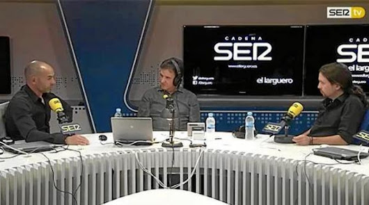 """Pablo Iglesias: """"Tendríamos una Liga mejor si no fuera de dos y los demás"""""""