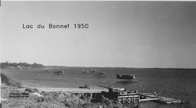 Photo: Lac du Bonnet, 1950