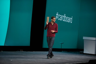Photo: Wait? Did I hear that correctly? All attendees will get Cardboard at I/O?