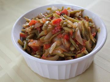 Mom's Greek String Beans Recipe