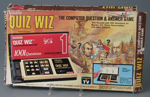 Electronic game:Quiz Wiz: The Computer Question & Answer Game