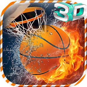 Basketball Shoot Game 3D Icon