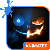 Ice & Fire Animated Keyboard + Live Wallpaper Android APK Download Free By Wave Keyboard Design Studio