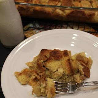 Overnight Apple French Toast Casserole Recipe