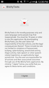 BitchyTexts- screenshot thumbnail