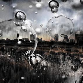 SacraBubble by Brandon Rose - Backgrounds Industrial ( nature, sunset, amateur, sunrise, landscape, city )