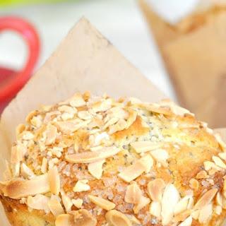 Homemade Bakery-Style Almond-Poppyseeds Muffins