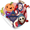 Stickers for WA - Halloween icon