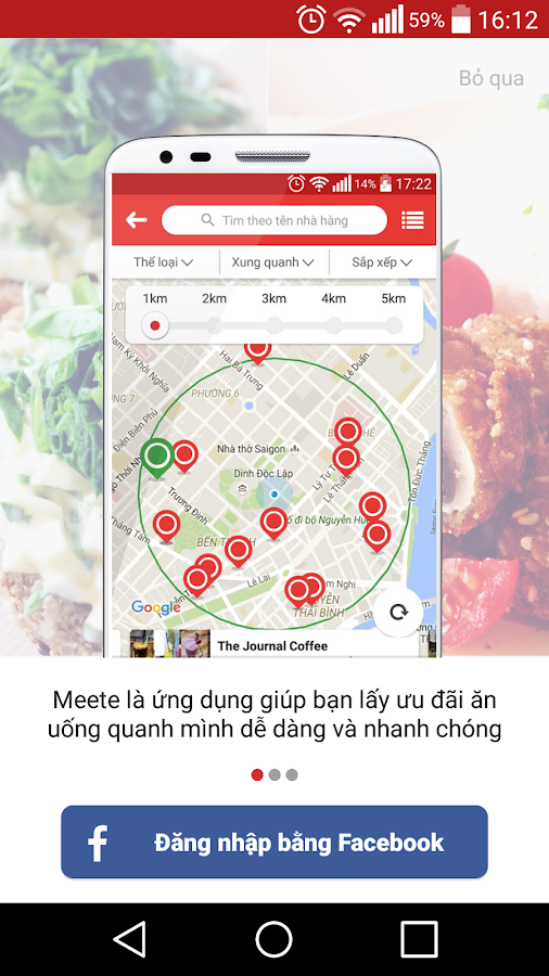 Meete - Food & Drink deal- screenshot
