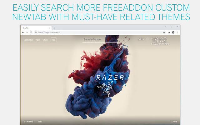Razer Wallpaper HD Razer Viper New Tab