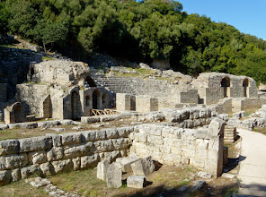 Photo: Butrint - Roman theater from 2nd century AD (on top of the Greek theater from the 4th century BC)