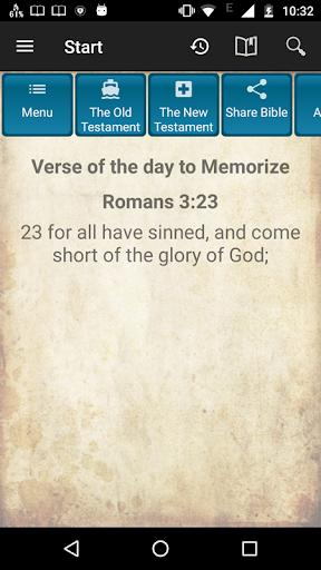 Holy Bible King James Version screenshot 1