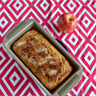 Applesauce Spice Loaf + Review of Sweet Mornings.