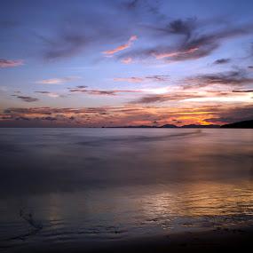 Mystic Sunset by Leonardus Cung - Landscapes Beaches