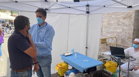 La falta de vacunas ralentiza el ritmo de inmunización en Berja
