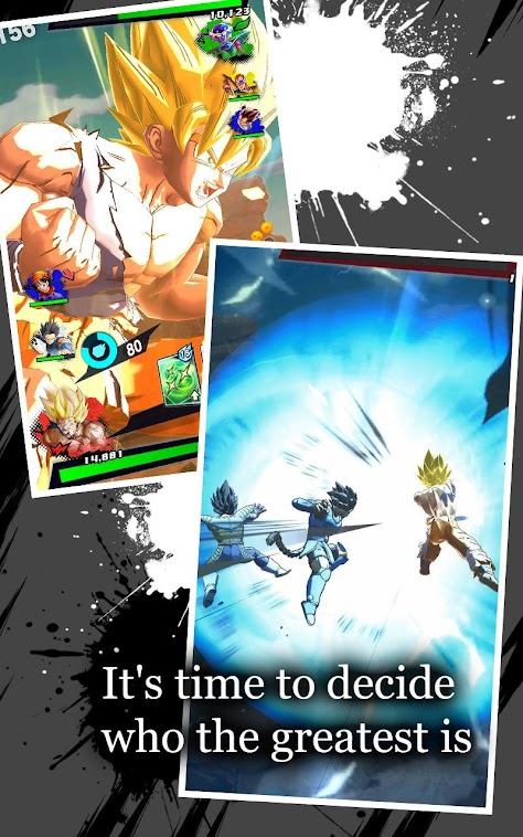 DRAGON BALL LEGENDS poster