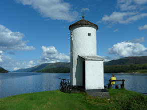 Photo: Lighthouse at Gairlochy