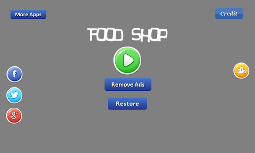 Food Shop - provide the food - náhled