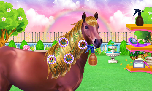 Horse Hair Salon and Mane- Tressage 1.0.0 screenshots 1